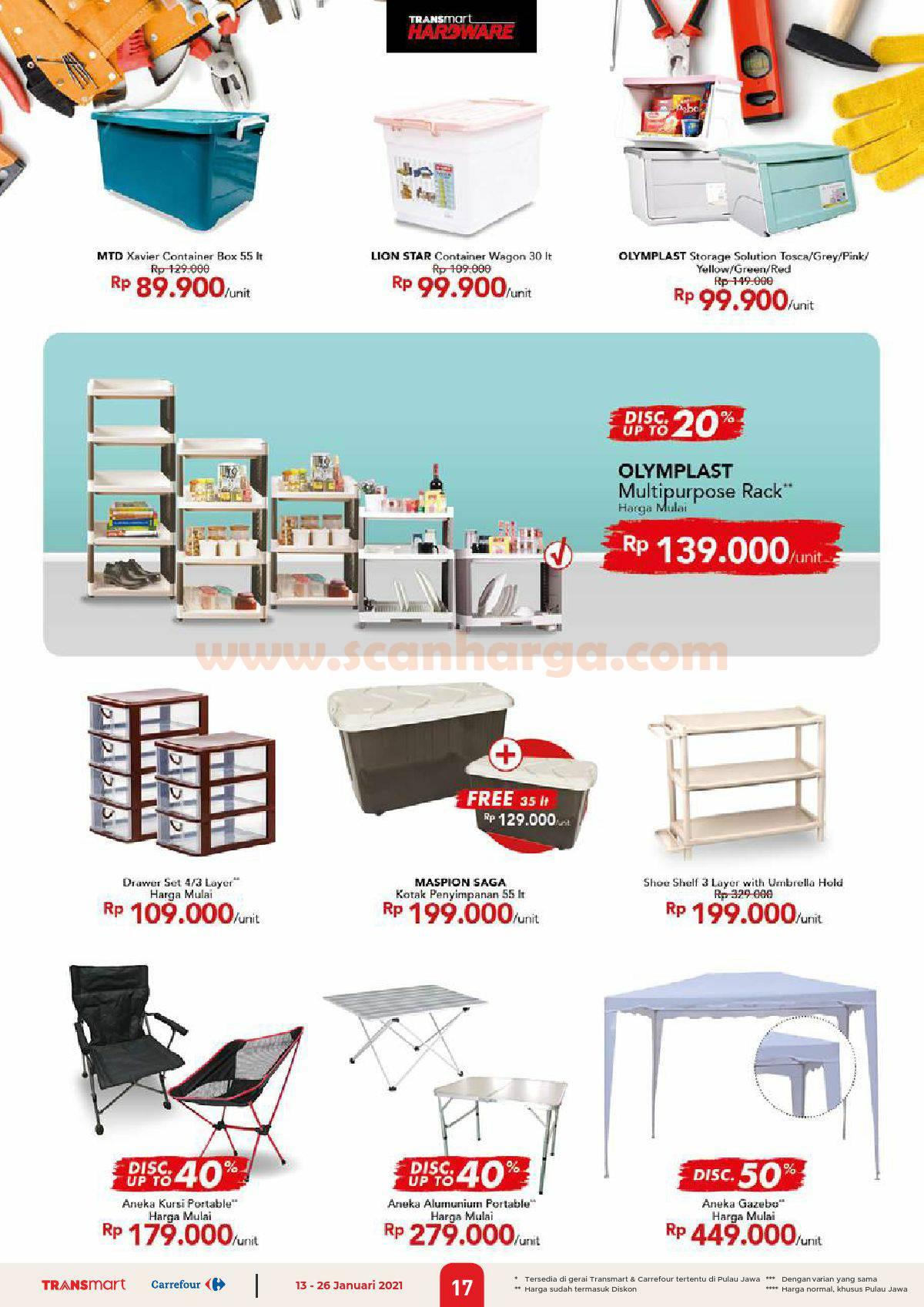 Katalog Promo Carrefour Transmart 13 - 26 Januari 2021 17