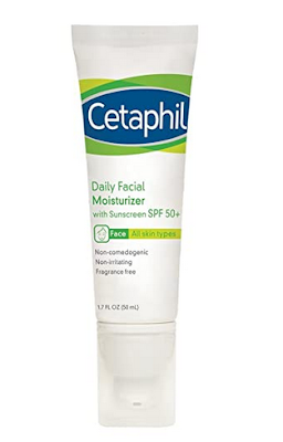 Cetaphil Daily Facial Moisturizer with Sunscreen, SPF 50+