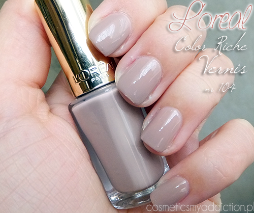 L'OREAL | Color Riche Vernis nr 104 - beige countess