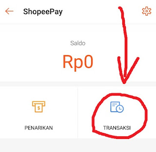 Halaman Shopee Pay