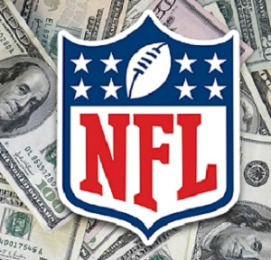 The NFL salary cap projection for 2019, range set of $187M-$191.1M.