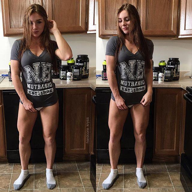 Girl fitness model Kryss DeSandre