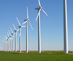Green Mountain Wind Farm - Green bonds can finance large-scale renewable energy projects like wind farms. (Credit: Leaflet/Wikimedia Commons) Click to Enlarge.