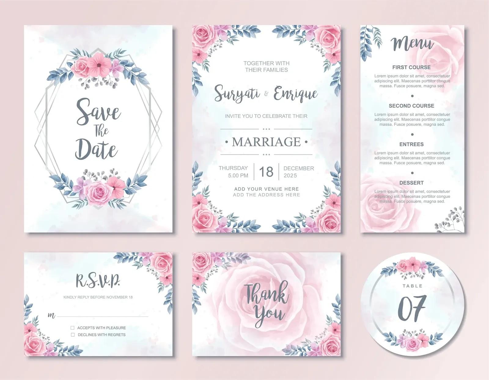 download undangan pernikahan siap edit