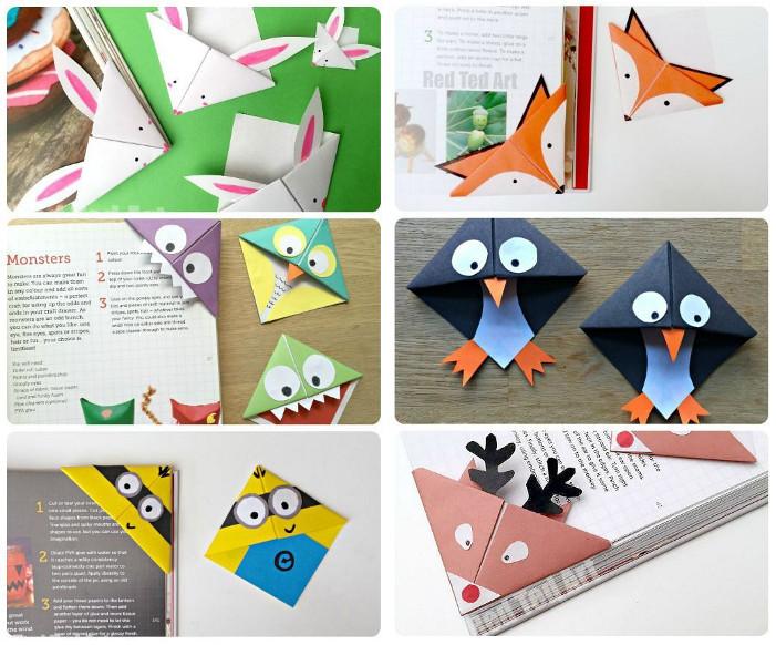 Membuat Origami Penanda Buku Unik
