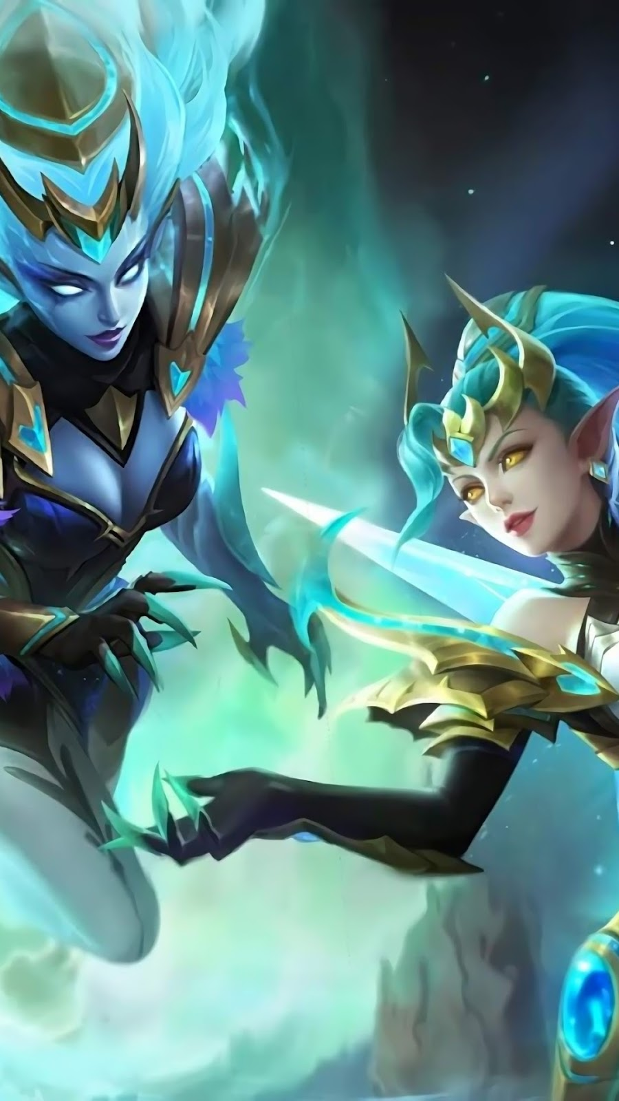 Wallpaper Selena Gemini Shadow Skin Mobile Legends HD for Android and iOS