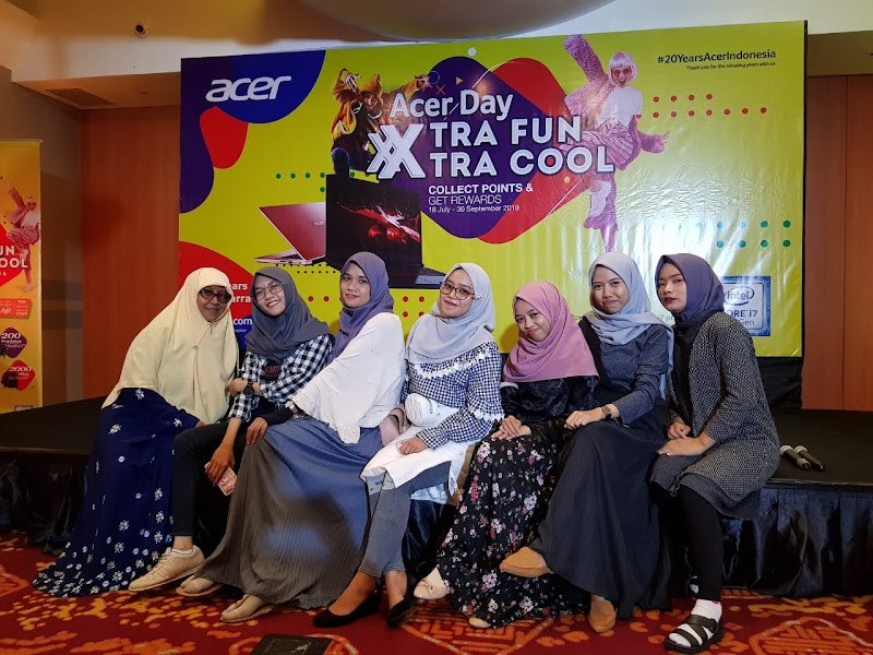 Serunya Acer Day 2019 Xtra Cool Xtra Fun