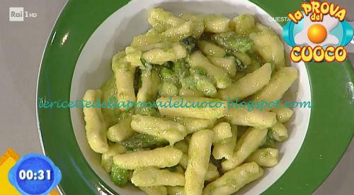 Cavatelli asparagi e menta ricetta Facchini da Prova del Cuoco