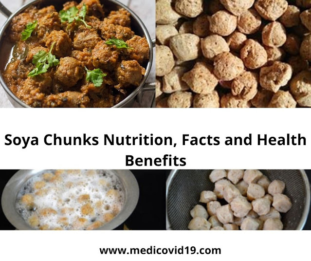 Soya Chunks Nutrition, Facts and Health Benefits