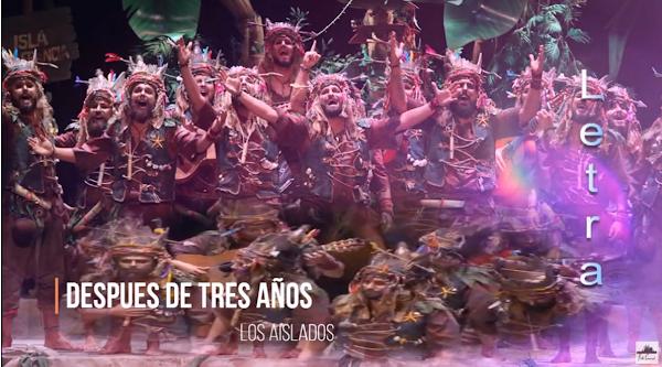 """👬Pasodoble """"Después de tres años"""" 🌴 Comparsa """"Los Aislados"""" con Letra (2020)"""