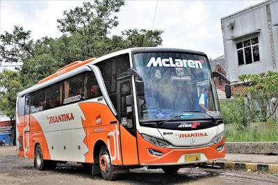 Foto Bus New Shantika 3C Mclaren