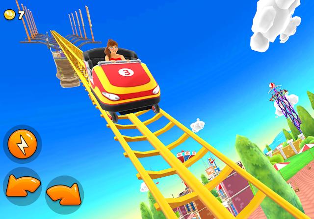 Thrill Rush Theme Park Hileli Apk - Para Elmas Hileli Apk