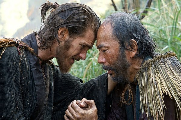Silence movie still, Andrew Garfield, Martin Scorsese