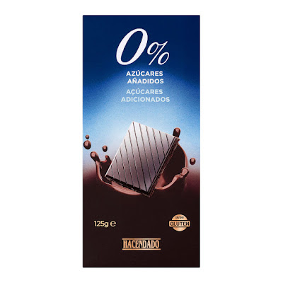 Chocolate negro extrafino 52% de cacao 0% azúcares añadidos Hacendado