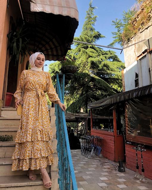 ملابس العيد 2020 للبنات المحجبات