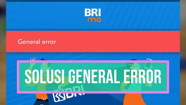 brimo general error