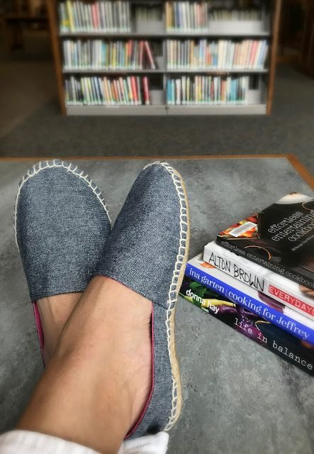 alidiza: Stepping Out of my Comfort Zone - DIY Espadrilles