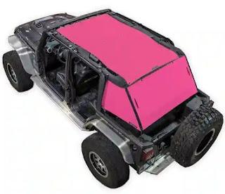 Spiderwebshade, jeep