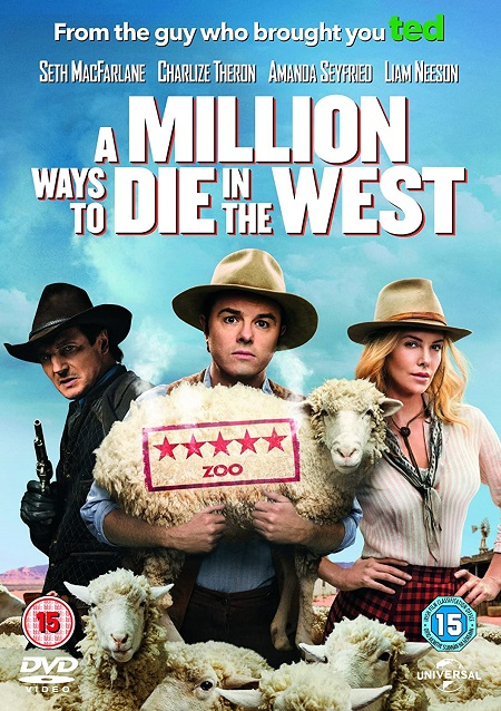 A Million Ways to Die in the West (2014) 720p HEVC BluRay x265 Esubs [Dual Audio] [Hindi ORG – English] – 650 MB