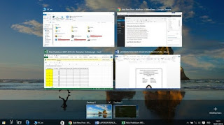 Cara menggunakan virtual desktop Windows 10