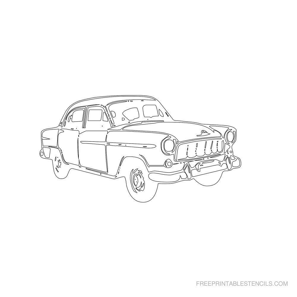 Ausmalbilder Autos Zum Ausdrucken