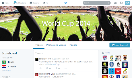 Twitter: World Cup