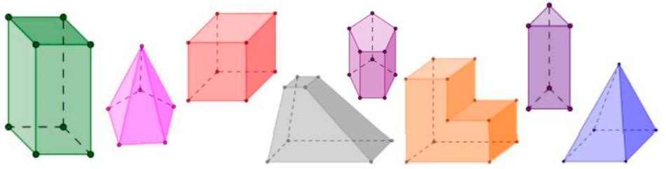 FORMAS GEOMÉTRICAS - Reforço de Matemática
