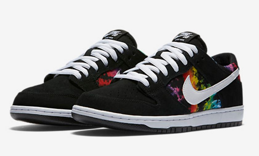 best sneakers 27033 168f9 Here is a look at the new Nike SB Dunk Low Pro Ishod Wair  Tie-Dye   sneakers available now HERE, definitely an awesome colorway. The Shoe  offers responsive ...
