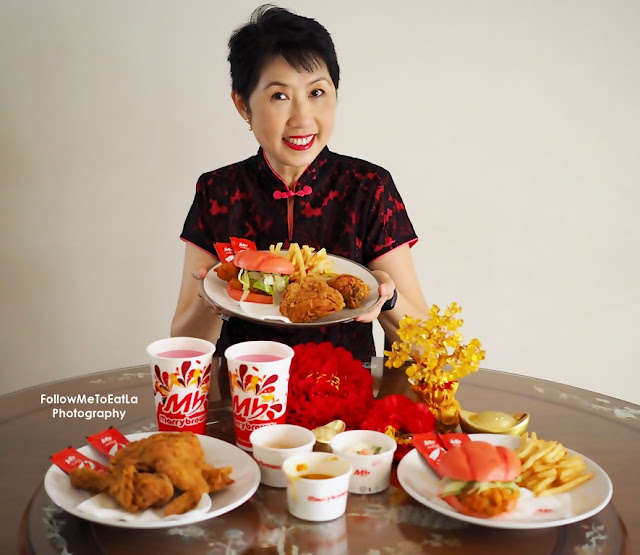 MARRYBROWN USHERS THIS CHINESE NEW YEAR 2021 IN PINK  WITH 'EGG-STRA ONG' BURGER & 'EGG-STRA ONG' CHICKEN COMBO MEAL