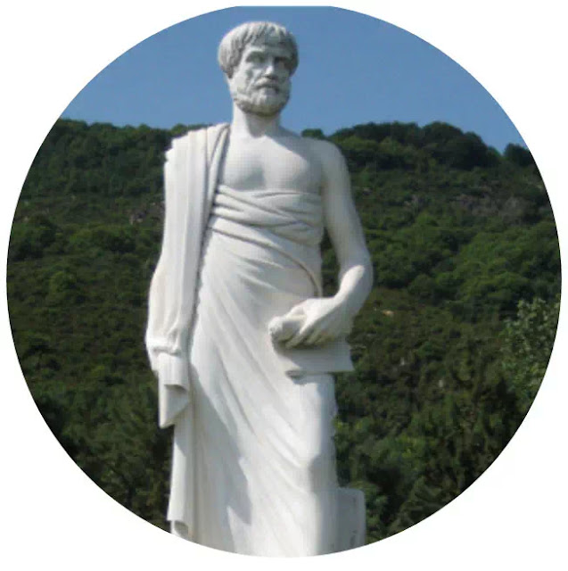 "Aristoteles (384-322 S.M)   Aristoteles adalah murid dari pada Plato. Aristoteles terkenal dalam filsafat dan kenegaraan. Buku Aristoteles adalah ""POLITIKA"" berbeda dengan gurunya, Aristoteles lebih mementingkan negara konkret (nyata), jadi Aristoteles lebih mendekati kenyataan (menurut realitas). Menurut pendapat Aristoteles, negara yang ideal adalah, Monarki, Aristokrasi dan Demokrasi, tetapi bagi Aristoteles tidak akan terjadi ideal, yang ada menurut Aristoteles adalah negara kemerosotan dan negara campuran."