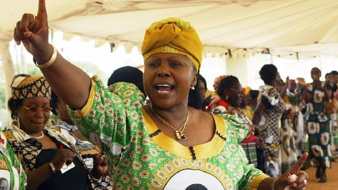 Coronavirus is God's revenge against Zimbabwe's sanctioners - Zimbabwe's defence minister, Oppah Muchinguri says