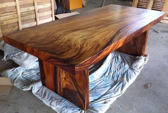 mesas de madera para cocina