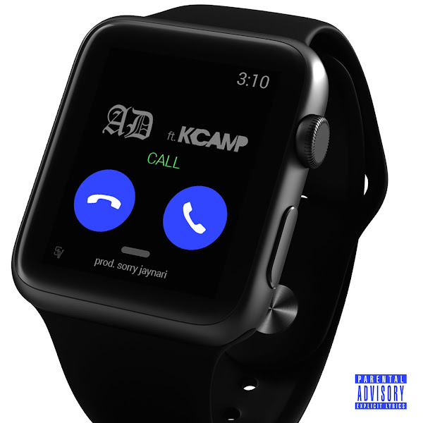 AD & Sorry Jaynari - Call (feat. K CAMP) - Single   Cover