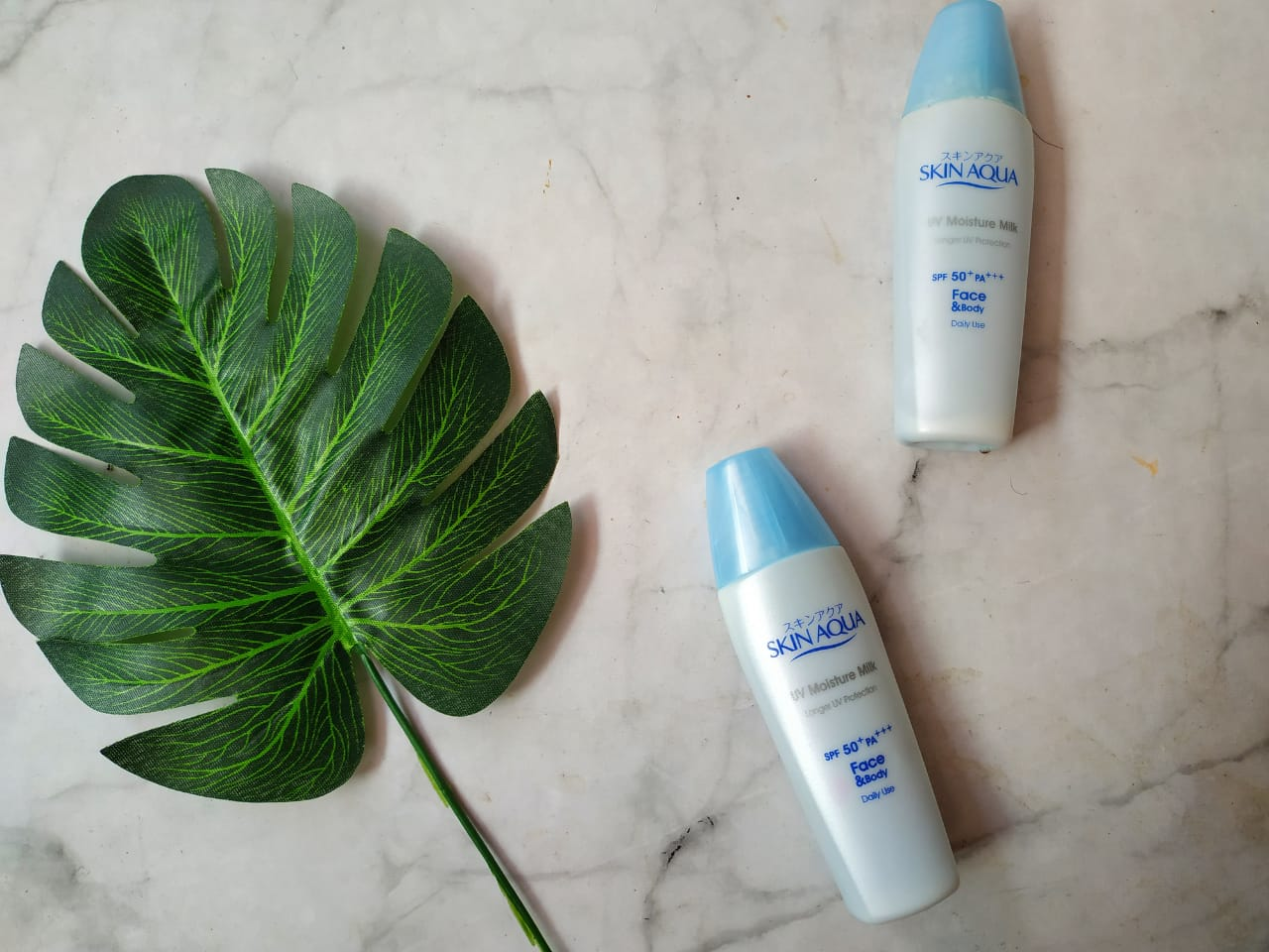 Review Skin Aqua Uv Moisture Milk Spf 50