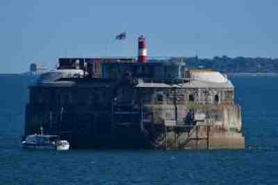 Spitbank Fort Portsmouth, England
