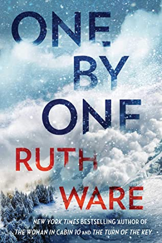 Book cover for One By One by Ruth Ware One By One in the South Manchester, Chorlton, Cheadle, Fallowfield, Burnage, Levenshulme, Heaton Moor, Heaton Mersey, Heaton Norris, Heaton Chapel, Northenden, and Didsbury book group