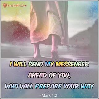 Today bible verse mark 1:2