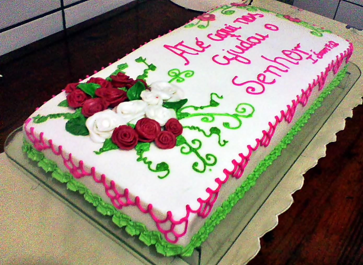 Mensagens Biblicas Para Aniversario: Rebeca Cakes: Bolo De Aniversário Frase Bíblica
