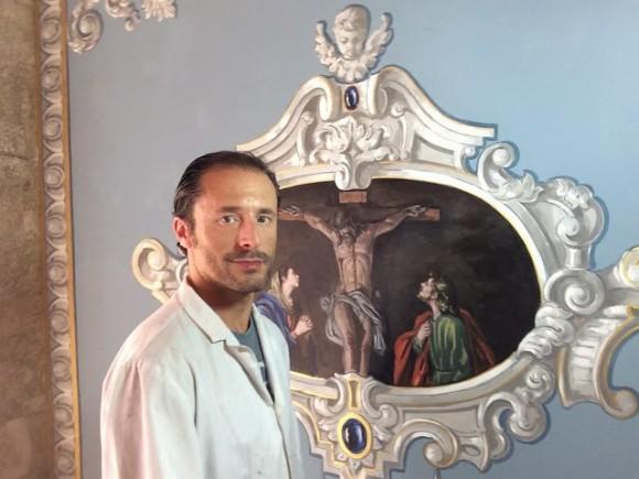 Javier Aguilar es designado por la Agrupación como autor del cartel oficial de la Semana Santa de Loja 2021