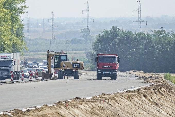 Minden irányban töretlen lendülettel folytatódnak a közútfejlesztések
