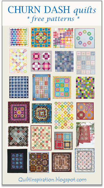 Quilt Inspiration Free Pattern Day Shoo Fly And Churn Dash Quilts