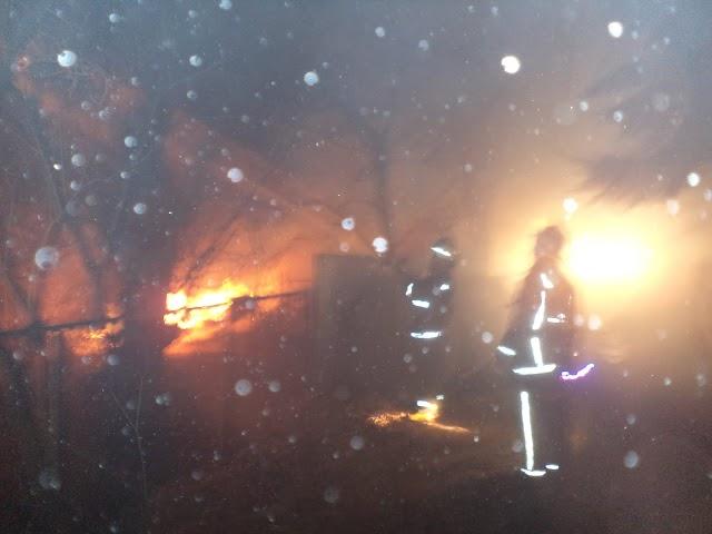 На Васильківщині сталися пожежі