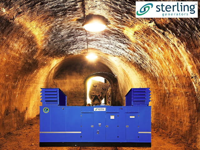 Sterling generators provideone stop solution towards Mining application for Industrial Segment!