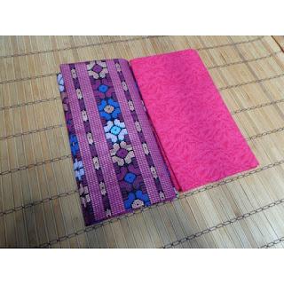 Kain Batik dan Embos 294 Pekalongan motif Prada Pink
