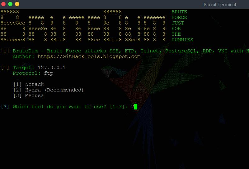 hack telnet hydra