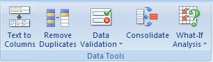 Data Tab Microsoft Excel