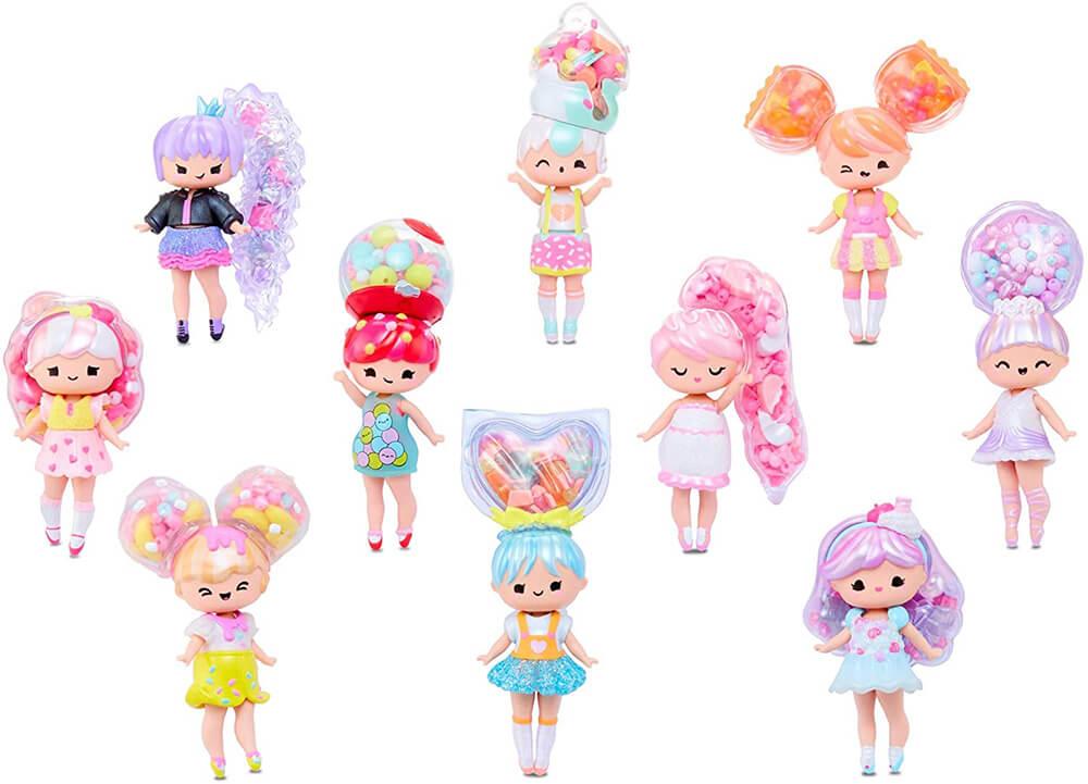 Вся коллекция и имена кукол MGA Secret Crush Minis