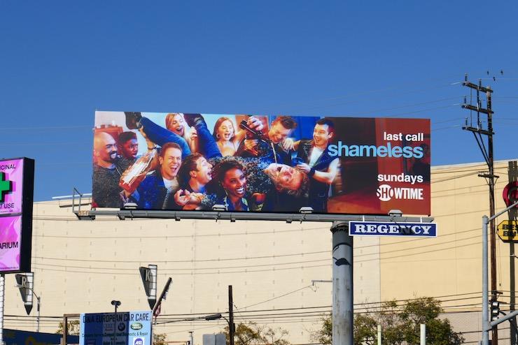 Shameless season 11 billboard