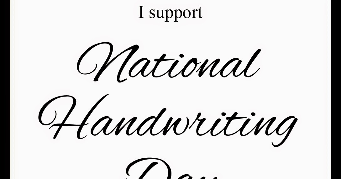 Paperesse: A badge for upcoming National Handwriting Day