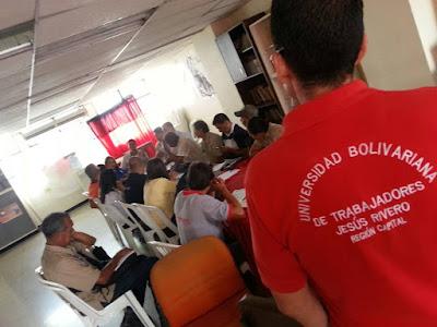 Trabajadores de la cadena productiva del agua avanzan en la Gestión Directa y Democrática del Proceso Social de Trabajo